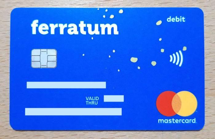 Foto de la tarjeta de Ferratum Bank